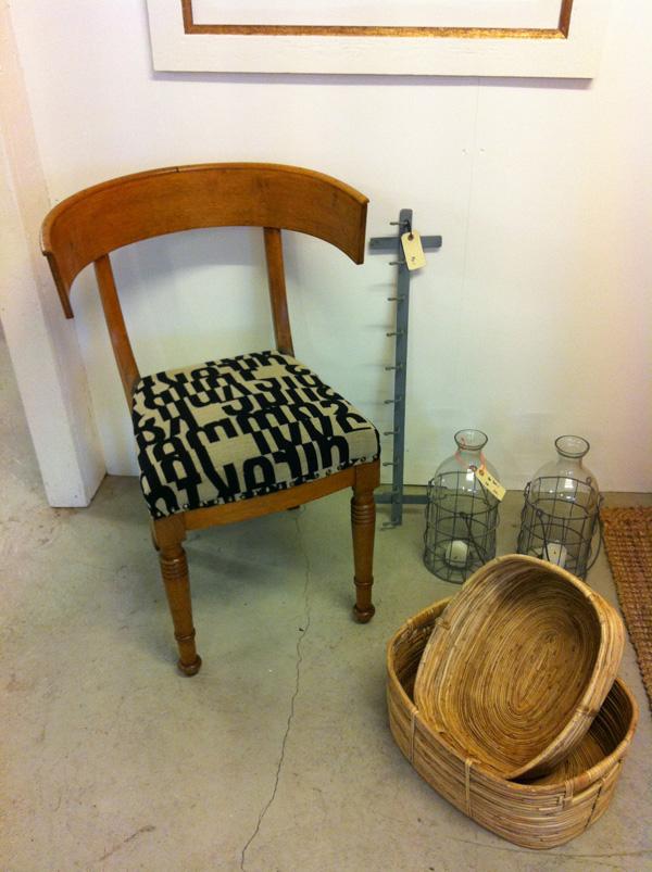 ompolstring af stolesæder antik