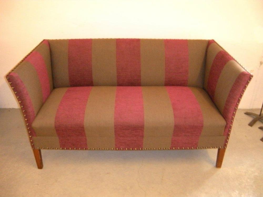 Ompolstret-sofa