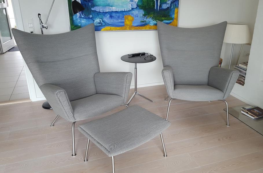 ompolstring af stol