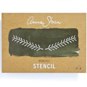 Stencil Branches A4