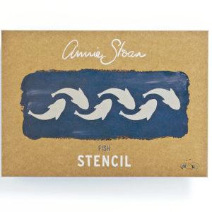 Stencil Fish A4
