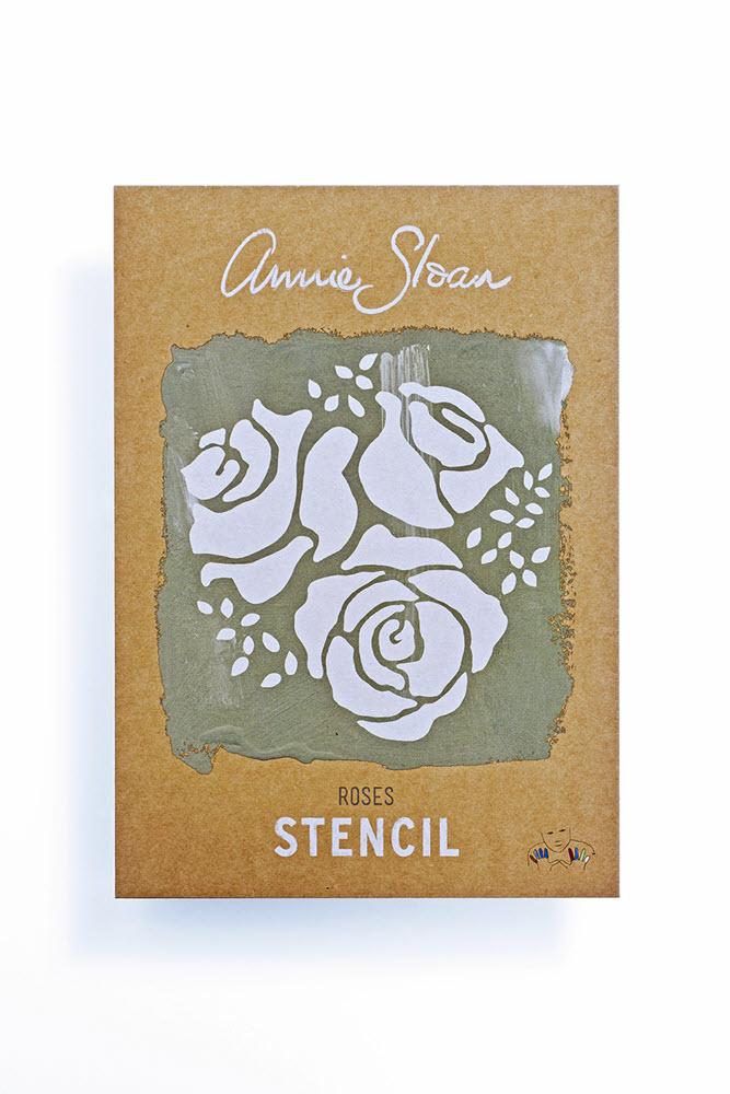 Stencil Roses A4