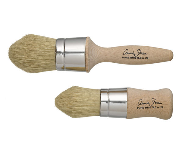 Chalk Paint Wax Brushes Large and Smal