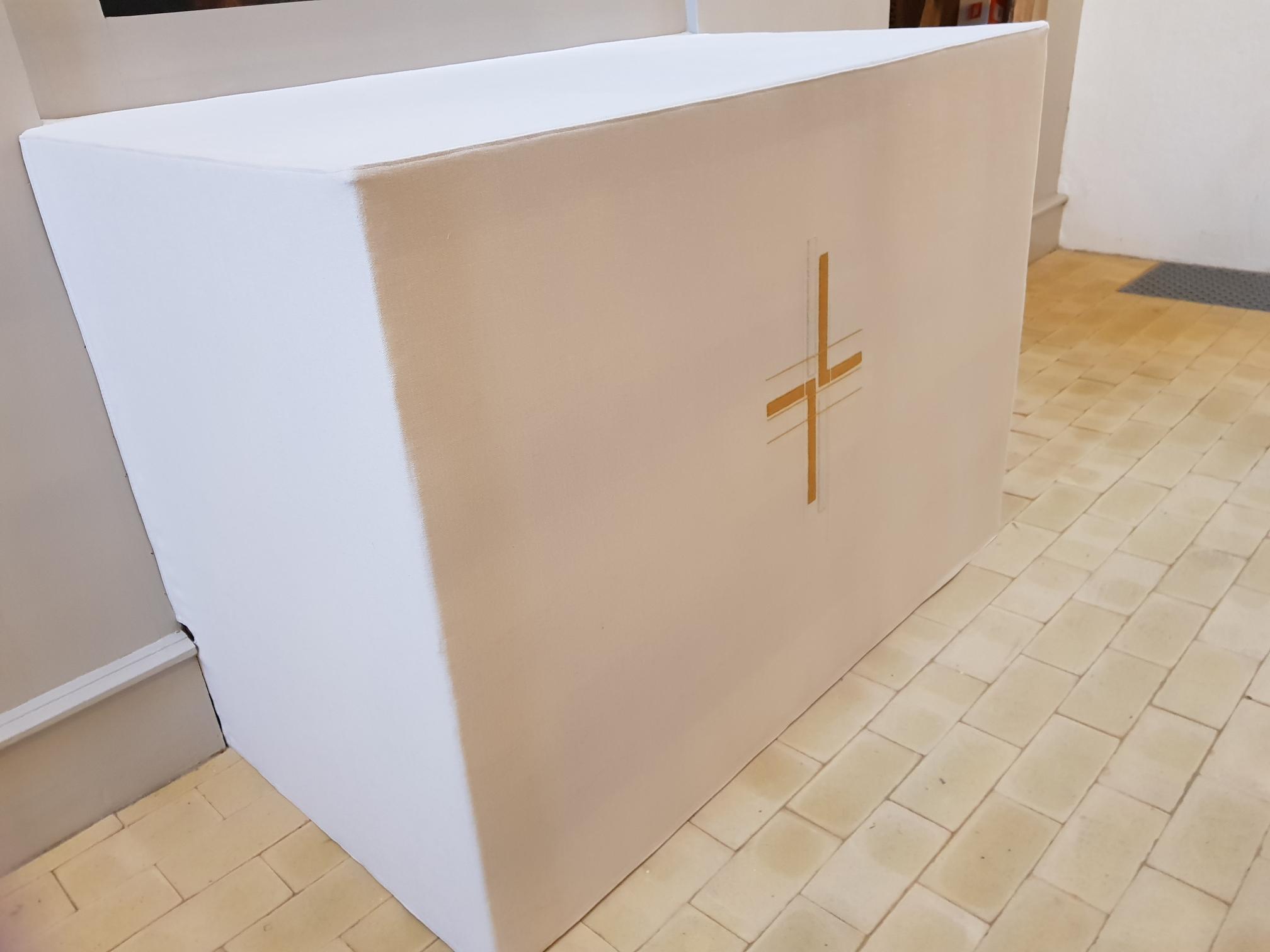 interiør til kirke